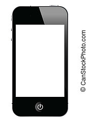 smart phone - illustration of smart phone, vector format.
