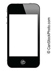 smart phone - illustration of smart phone, vector format.