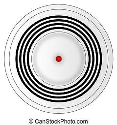 illustration of smoke detector