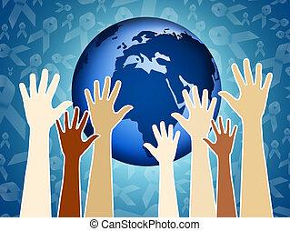 Solidarity - illustration of Solidarity