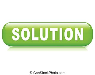 solution button on white background