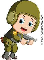 Special force soldier