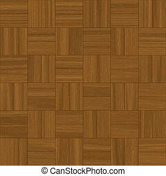 illustration of square pattern parquet flooring