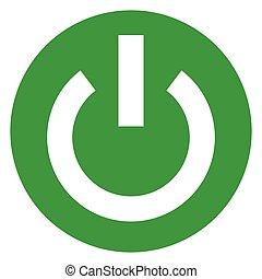 start green circle icon