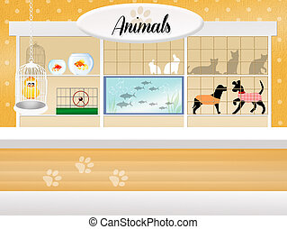 store of animals