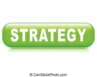 strategy button on white background