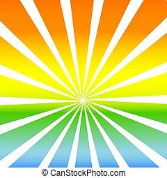 sunshine background - illustration of sunshine background