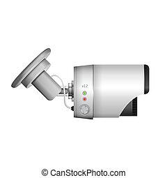 Illustration of surveillance camera