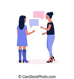 talking women