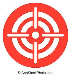 target red circle icon
