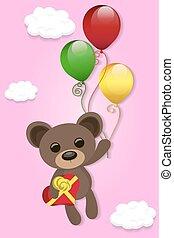 illustration of Teddy bear