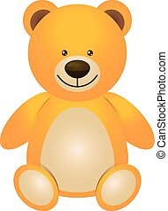 Illustration of teddy bear - toy for children