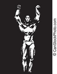 the bodybuilder
