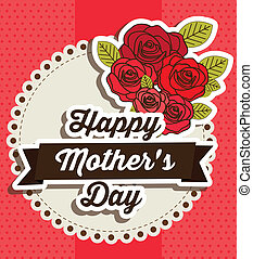 Mother's Day - Illustration of the celebration of Mother's ...