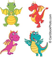 the collection of the big dragon and it can fly with the different colour