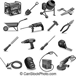 construction work tools