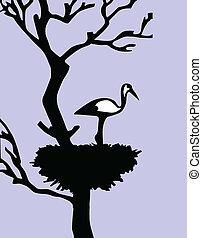illustration of the crane in jack