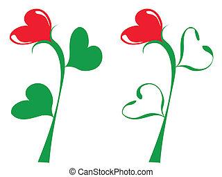 illustration of the decorative tulip