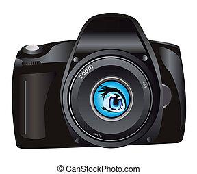 Illustration of the digital camera