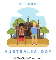 Australia Day on January 26th.
