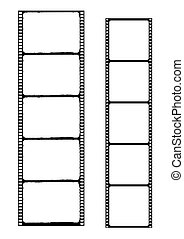 film strip - vector - Illustration of the film strip -...
