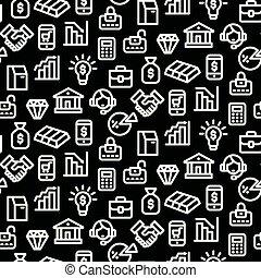banking seamless pattern