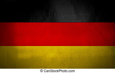 Illustration of the flag of Germany