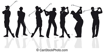 golf - Illustration of the game of golf