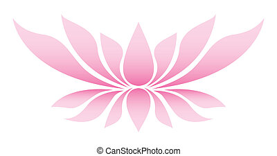 Illustration of the lotus flower - Illustration of the lotus...