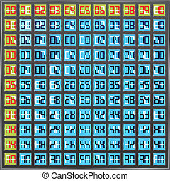 school multiplication table