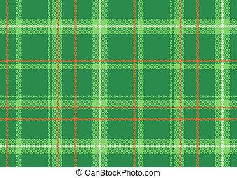 Scottish plaid - illustration of The Scottish plaid. ...