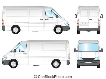 sprinter presentation - illustration of the sprinter...