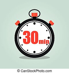 thirty minutes stopwatch