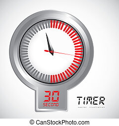 illustration of timer