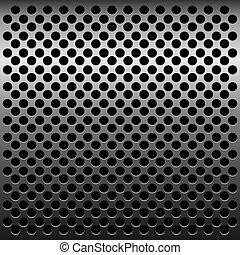 Illustration of titan metalic texture for design -...