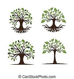 Tree for Logo Set