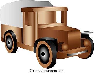 Illustration of truck