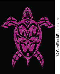 turtle in tribal