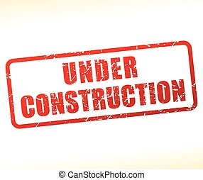 under construction text buffered
