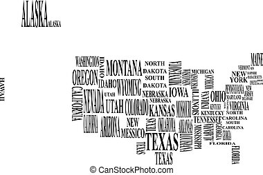 united states map wi - illustration of united states map...