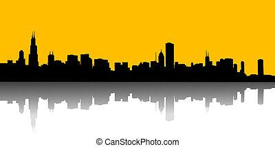 urban skylin