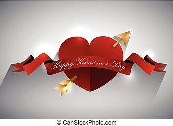 Valentines greeting card design