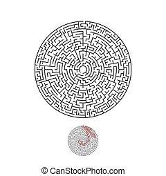 Vector Maze Labyrinth
