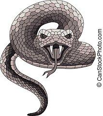 Vector Tattoo Snake