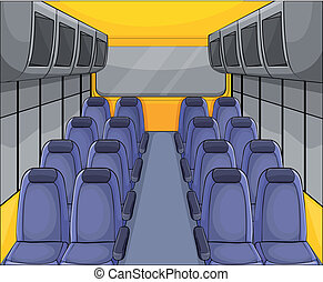 vehical seat arrangement - illustration of vehical seat...