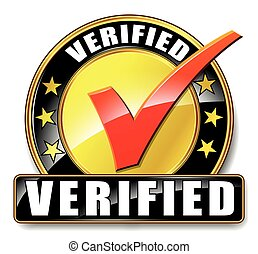 verified icon on white background