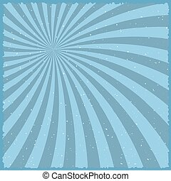 Vintage Carnival Circus Background. Retro Style Carnival Festival Sunburst Effect Vector Template