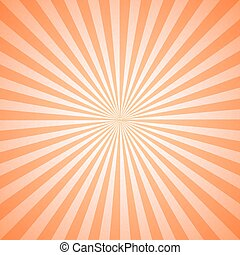 Vintage Geometric Radial Lines Sunburst Pattern