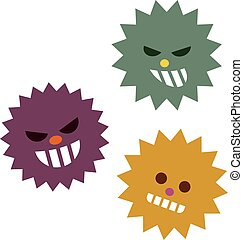 Illustration of virus