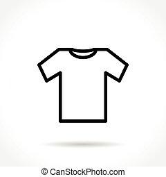 wear thin line icon